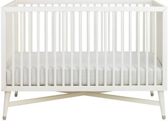 DwellStudio Mid-Century Crib- French White