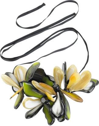 Marni Large flower necklace