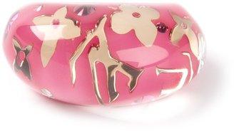 Louis Vuitton Vintage resin ring