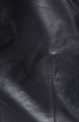 Veda 'Max' Leather Moto Jacket