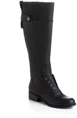Nine West Vanista Leather Riding Boots