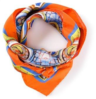 Dolce & Gabbana printed pattern scarf
