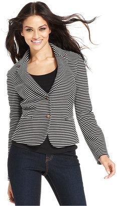INC International Concepts Jacket, Striped Blazer