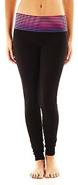 JCPenney City Streets® Foldover Yoga Pants