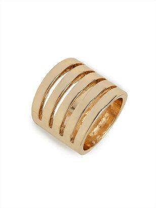 BaubleBar Gold Cinque Ring