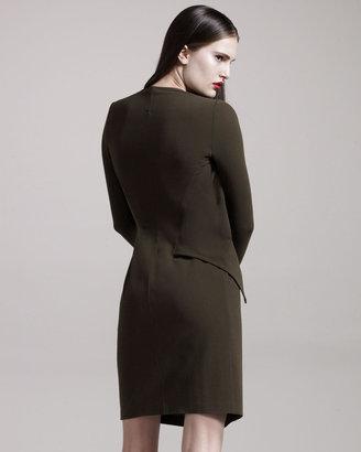 Givenchy Faux-Wrap Dress