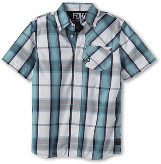 Fox Denton S/S Woven Boy's Short Sleeve Button U