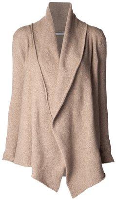 Casmari draped front cardigan