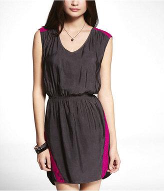 Express Tie Back Lace Detail Dress