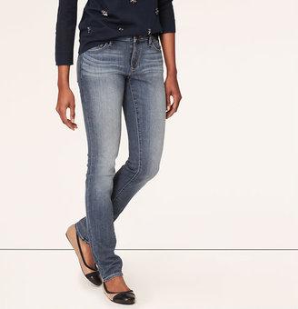 LOFT Tall Curvy Skinny Jeans in Winning Blue Wash