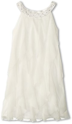 Biscotti Once Upon a Princess Verticle Ruffles Dress (Little Kids/Big Kids)