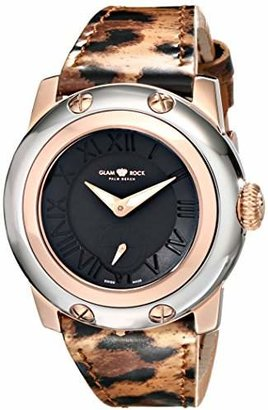 Glam Rock Women's GR40029 Miami Analog Display Swiss Quartz Multi-Color Watch