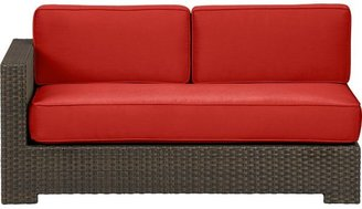 Caliente Ventura Modular Left Arm Loveseat with Cushions (includes one seat and two back cushions) in Sunbrella