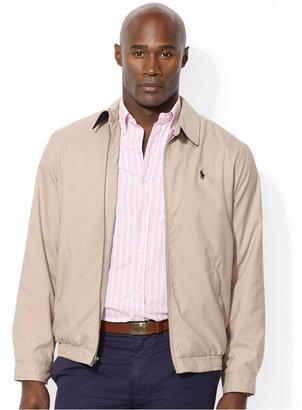 Polo Ralph Lauren Men's Big and Tall Jackets, Bi-Swing Windbreaker $145 thestylecure.com