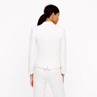J.Crew Collection tuxedo jacket in Italian linen