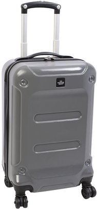 The Sharper Image luggage, razor 20-in. expandable hardside spinner carry-on
