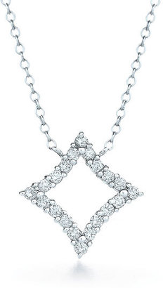 Kwiat 'Evergreen' Diamond & White Gold Pendant Necklace
