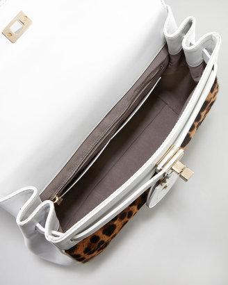 Jason Wu Jourdan Leopard-Print Backpack Bag