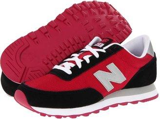 New Balance Classics - 501 - Ballistic Nylon (Black/Pink) - Footwear