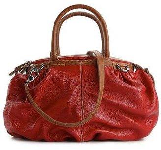 Dolce & Gabbana Leather Bucket Satchel