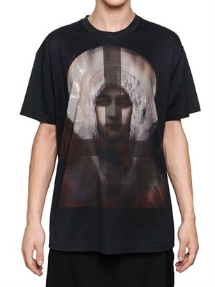 Givenchy Madonna Cotton Jersey Oversized T-Shirt