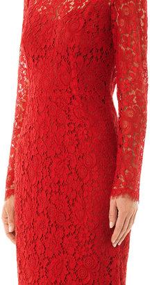 Dolce & Gabbana Lace long sleeved dress