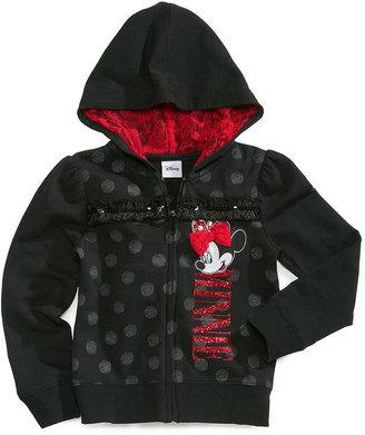 Disney Kids Hoodie, Little Girls Minnie Mouse Hoodie