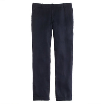 J.Crew Bristol trouser in herringbone linen