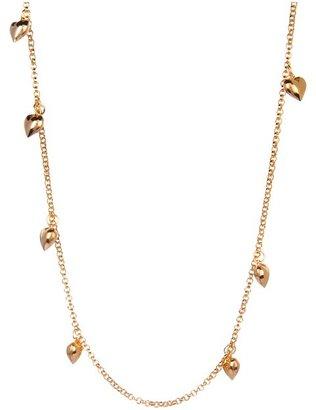 Emily Elizabeth Jewelry - Love All Around Necklace (14K Gold Plated) - Jewelry