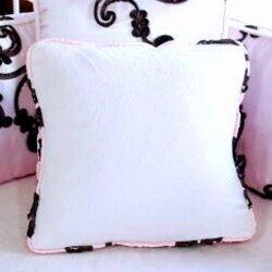 Blueberrie Kids Chambord Cotton Throw Pillow Blueberrie Kids