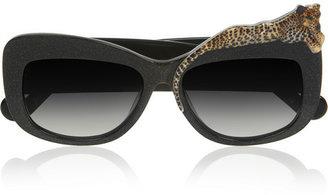 Karlsson Anna-Karin Rose et la Mer cat eye acetate sunglasses