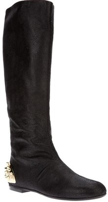 Giuseppe Zanotti Design studded cap boot