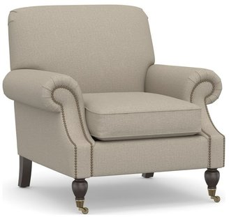 Pottery Barn Brooklyn Upholstered Armchair