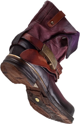 A.S. 98 717207 Ankle Boot Wine Leather