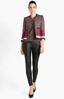 MSGM Tweed Crop Jacket