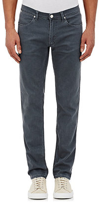 Acne Studios Men's Max Straight Jeans-Grey, Blue $220 thestylecure.com