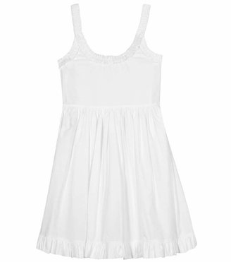 Miu Miu RUFFLE DETAILED DRESS