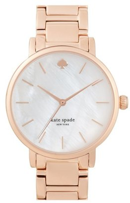 Women's Kate Spade New York 'Gramercy' Bracelet Watch