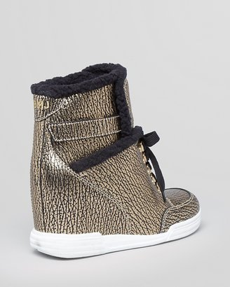 Marc by Marc Jacobs Lace Up Wedge Sneakers - Good Sport
