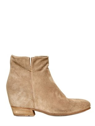 Strategia 80mm Suede Low Boots