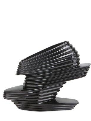 160mm Nova Shoe Chrome Vinyl Wedges