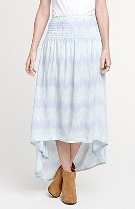 Kirra Smocked Convertible Maxi Skirt