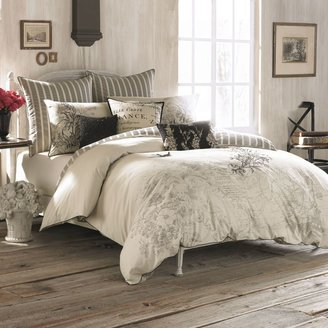 Bed Bath & Beyond AnthologyTM Amour Embroidered Reversible Comforter Set