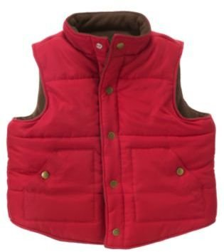 Janie and Jack Reversible Puffer Vest