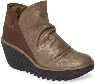 Fly London Yip Wedge Bootie