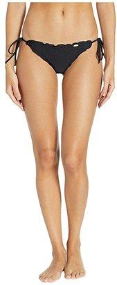 86c84f39d24 Luli Fama Cosita Buena Wavey Brazilian Tie Side Ruched Back Bikini Bottom