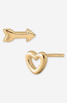 Argentovivo 'Love' Stud Earrings (Nordstrom Exclusive)