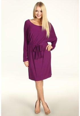 Max & Cleo Dolman Sleeve Madilyn Dress (Italian Plum) - Apparel