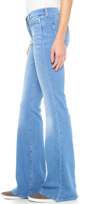 MiH Jeans The Marrakesh Kick Flare Jeans