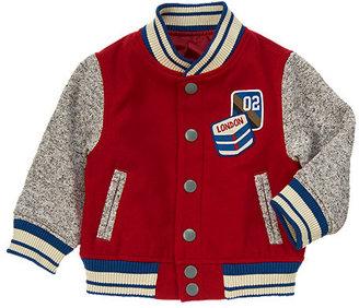 Gymboree London Patch Varsity Jacket
